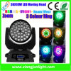 36X18W LED Beam Cabeza móvil Wash Light