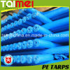 50GSM Royal Blue Color PE Tarpaulin Rolls de tecido