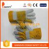 Handschoenen van het Leer van Ddsafety de 2017 Versterkte
