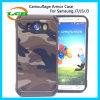 Caisses protectrices de téléphone d'armure de camouflage pour Samsung J7/J5/J3