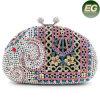 O saco de noite luxuoso do projeto do elefante com animal dos cristais denomina os sacos Leb726 do partido