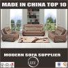 Modernes Art-echtes Leder-Wohnzimmer-Sofa