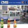 Máquina de rellenar del animal doméstico de la botella de la bebida automática del jugo