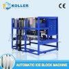 Dia automático da máquina 1000kga do bloco de gelo de Koller, máquina do fabricante de gelo