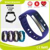 Bracelete esperto impermeável da medida da fatiga do oxigênio do sangue da frequência cardíaca do monitor da pressão sanguínea