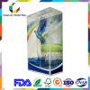 Rectángulo plegable plástico transparente al por mayor de la fábrica para la visualización del producto