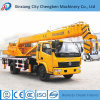 Bras droit grue mobile de 8 tonnes avec la grue télescopique de camion à vendre
