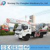 Fernsteuerungs- u. Diesel mini teleskopische Hochkonjunktur-mobilen Kran mit T-König Truck Chassis fahrend