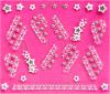la decorazione di 3D DIY Foils gli autoadesivi del chiodo degli autoadesivi di arte del chiodo della decalcomania