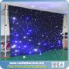 Cortina profissional Drape&#160 da iluminação do estágio; Estrelas Twinkling do diodo emissor de luz