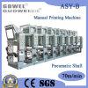 Machine d'impression de gravure de Shaftless de couleur de la vitesse moyenne 8