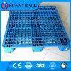 파란 색깔에 있는 Wh 유형 메시 표면 단 하나 측 1200*1000 플라스틱 깔판