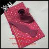 Vêtements d'homme de cravate tissés par soie de 100% avec la relation étroite assortie d'écharpe et de proue