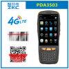 Scanner senza fili tenuto in mano del codice a barre del Android 5.1 di memoria 4G 3G GSM del quadrato di Zkc PDA3503 Qualcomm