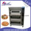 Horno eléctrico de la hornada de la pizza de las bandejas de la cubierta 9 del pan 3 de la panadería