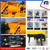 Pully Fabricação Simens Motor Schneider Componentes elétricos Twin Shaft Betoneira Betão Bomba de concreto (JBT40-L)