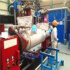 空気圧縮機タンク円周の継ぎ目の自動溶接機械