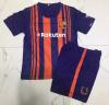 2017 2018 uniformi domestiche di calcio di Barcellona, uniforme di gioco del calcio di Sublimaion