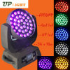 LED Stage Lighting 36*18W Rgbwauv 6in1 Wash LED Moving Head