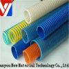 Alta Presión Agrícola flexible de bombas de riego de agua de PVC amarillo / azul / rojo de riego para establecer planos de la manguera / de tubería / tubo