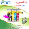Cartuccia di inchiostro riutilizzabile per Lexmark 100A/cartuccia di inchiostro compatibile (