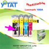 Refillable патрон чернил для Lexmark 100A/совместимого патрона чернил (
