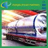 De ruwe Installatie van de Distillatie van de Olie van de Pyrolyse en van de Olie van de Motor van het Afval aan Diesel (x-y-1)