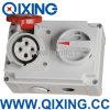 Qixing Cee/IEC Socket с Switch и Interlock (QX7275)