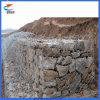 Cesta sextavada galvanizada Quente-Mergulhada de Gabion do engranzamento de fio