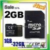 Карта памяти быстрого хода 1GB-32GB микро- SD с упаковкой волдыря переходники