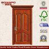 ヨーロッパのパネルの前部エントリ木製のドア(XS2-063)