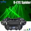 가장 새로운 최빈값 9PCS 녹색 이동하는 헤드 Laser 거미 광속 빛