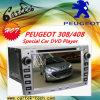 Peugeot 308/408 (CT2D-SP4)の特別な車のDVDプレイヤー