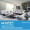 安いホーム家具フランス様式のイタリアの白革のソファーセット