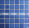 tegel van het Mozaïek van de Pool van 48X48mm de Glanzende Blauwe Verglaasde Ceramische (BCK640)
