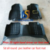 Het Materiaal van EVA van het Leer van pvc van de Fabriek van China 5D Al Rond Tapijt van de Auto van de Mat van de Vloer van de Auto van de Mat van de Voet van de Auto