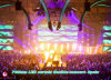 SMD Rental Large Stadium Flexible СИД Curtain P20mm для Live Show в Испании