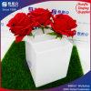 Conteneur acrylique d'étalage de fleur de décoration de mariage avec le couvercle