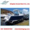 21FT avec le bateau de pêche en aluminium de sport du grand espace de pêche