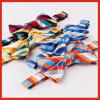 La tira colorida tejida manera de la pajarita del Mens del poliester Arquear-Ata a OEM