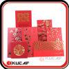 Paquete de sellado caliente de Angpow del sobre de los billetes de la perla de la insignia de Cutom