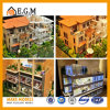 Modelo del chalet/modelo del edificio/modelos del modelo de las propiedades inmobiliarias/del edificio residencial/fabricación modelo arquitectónica