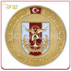 Custom Gold Plated & Sandblasted Finish Military Army Coin
