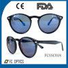 Lunettes de soleil fabriquées à la main de type rond de mode avec du ce, FDA avec la lentille Cr-39