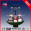 Netter Pinguin Family Streetlamp Holiday Gifts mit Snow
