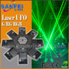 16 láser verde UFO Blue Beam etapa luz con LED brillante (SF-401)