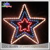 Indicatori luminosi decorativi esterni della stringa della stella di natale della decorazione LED del collegare