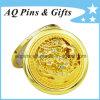 De Kosmetische Spiegel van uitstekende kwaliteit met Gouden Plateren