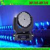 Wäsche-bewegliche Hauptlichter RGBW populäre Helligkeit DJ-LED