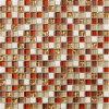 mosaico de piedra natural del mármol del mosaico de 15*15m m